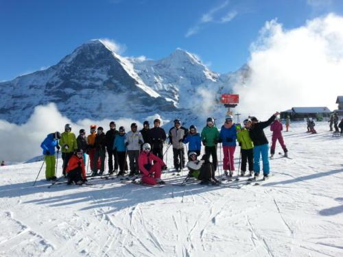 """Skiweekend """"Kleine Scheidegg"""" 2018"""